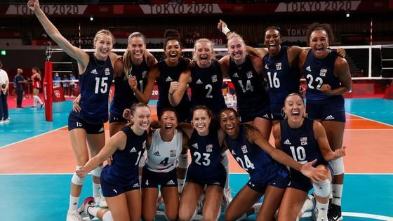 Đánh bại đội tuyển CH Dominica, tuyển bóng chuyền nữ Mỹ đã giành tấm vé vào bán kết của Olympic Tokyo 2020