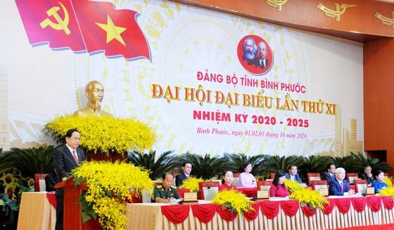 Khai mạc Đại hội đại biểu Đảng bộ tỉnh Bình Phước lần thứ XI ảnh 1