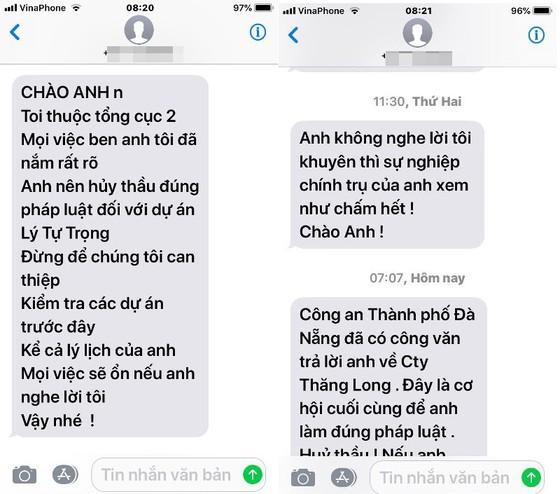 Tổng cục 2 vào cuộc việc Trưởng BQL dự án tại Đà Nẵng bị đe dọa ảnh 2