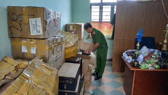 Đà Nẵng: Phát hiện lô Shisha không rõ nguồn gốc ảnh 1