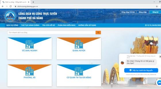 Đà Nẵng khuyến khích người dân dùng dịch vụ công trực tuyến ảnh 1