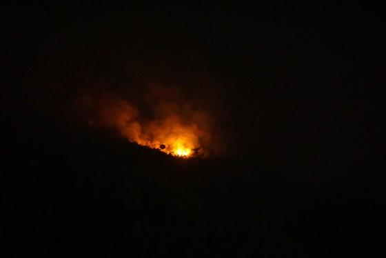 Đà Nẵng: Cháy lớn trên đỉnh núi Sọ  ảnh 1