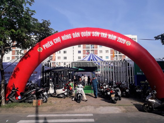 Quận Sơn Trà khai mạc Phiên chợ Nông dân 2020 ảnh 1