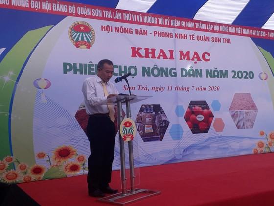 Quận Sơn Trà khai mạc Phiên chợ Nông dân 2020 ảnh 3
