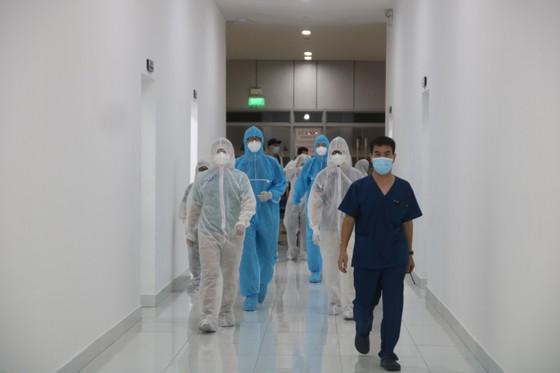 Bệnh viện dã chiến Tiên Sơn diễn tập tiếp nhận bệnh nhân với số lượng lớn ảnh 3