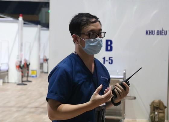 Bệnh viện dã chiến Tiên Sơn diễn tập tiếp nhận bệnh nhân với số lượng lớn ảnh 2