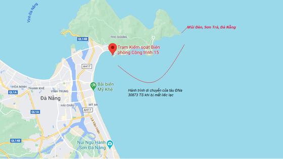 Kịp thời cứu hai ngư dân Đà Nẵng bị nạn trên biển ảnh 1