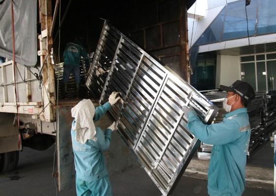 Vận chuyển thiết bị tại Bệnh viện dã chiến Tiên Sơn (Đà Nẵng) ra Hải Dương ảnh 8