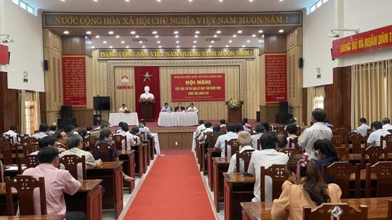 Phó Chủ tịch Quốc hội Nguyễn Đức Hải tiếp xúc cử tri tỉnh Quảng Nam ảnh 1