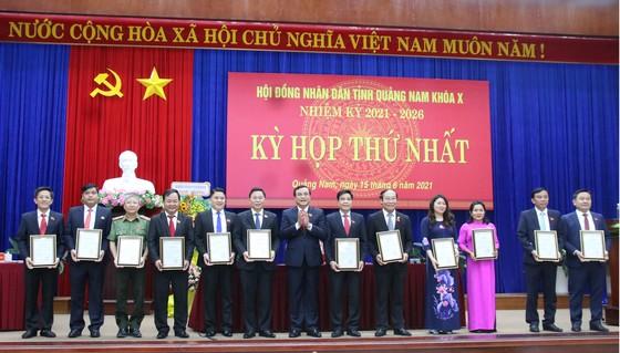 Quảng Nam bầu chức danh Chủ tịch HĐND và UBND tỉnh ảnh 1