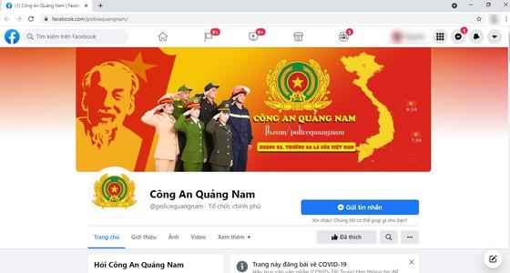 Công an Quảng Nam lập mạng trang xã hội để tương tác với người dân ảnh 1