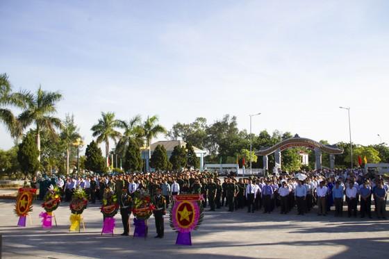 Quảng Trị tổ chức Lễ truy điệu và an táng 10 hài cốt liệt sĩ  ảnh 1