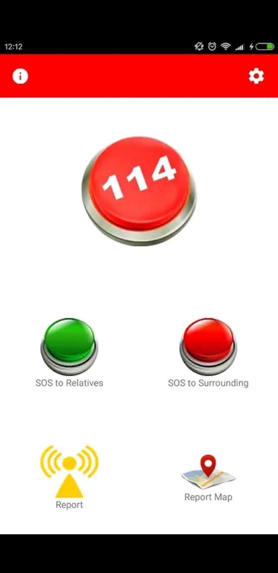 Help 114 - ứng dụng báo cứu hộ tức thời ảnh 1