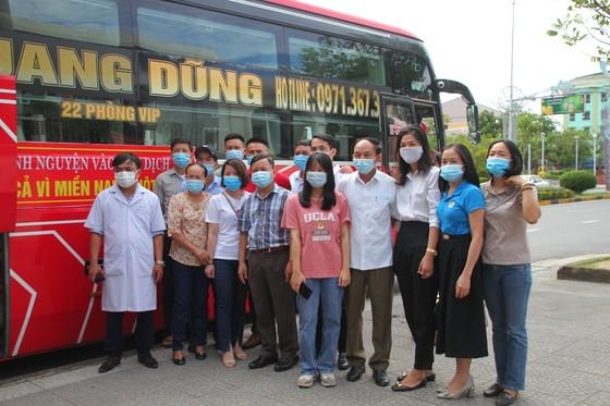 Quảng Trị: 35 bác sĩ, nhân viên y tế lên đường hỗ trợ Bình Dương chống dịch  ảnh 4