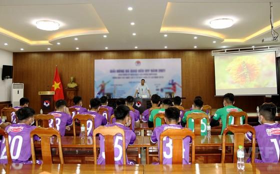 Đội trưởng U22 Việt Nam không ngại áp lực bảo vệ HCV SEA Games ảnh 3
