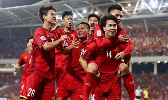 Đội tuyển Việt Nam đang sở hữu hàng công có phong độ cao. Ảnh: ANH KHOA