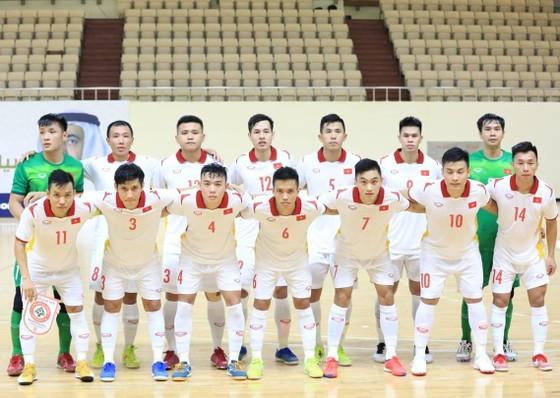 Đội tuyển futsal Việt Nam đã giành vé tham dự World Cup 2021. Ảnh: LFA