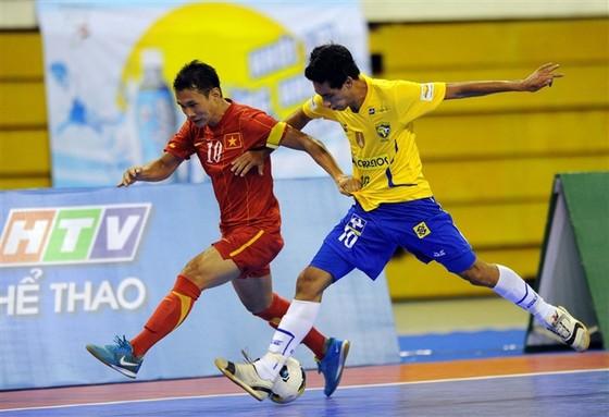 Danh thủ Nguyễn Bảo Quân là đội trưởng của đội tuyển futsal Việt Nam năm 2013. Ảnh: Tư liệu