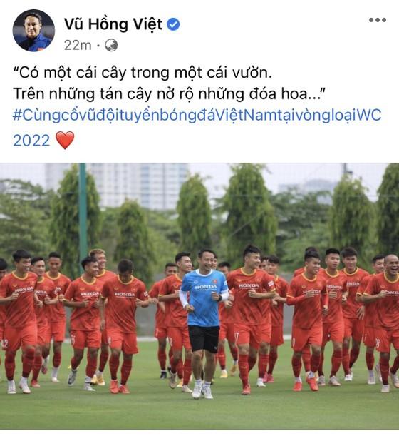 Đặng Văn Lâm và các đồng nghiệp gửi lời chúc đến đội tuyển Việt Nam ảnh 1
