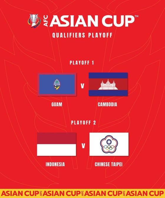 Hai đội Đông Nam Á né nhau ở trận play-off vòng loại Asian Cup ảnh 1