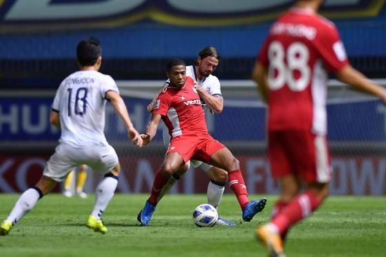 Viettel FC nhận thất bại đáng tiếc trước Ulsan Hyundai. Ảnh: VIETTEL FC