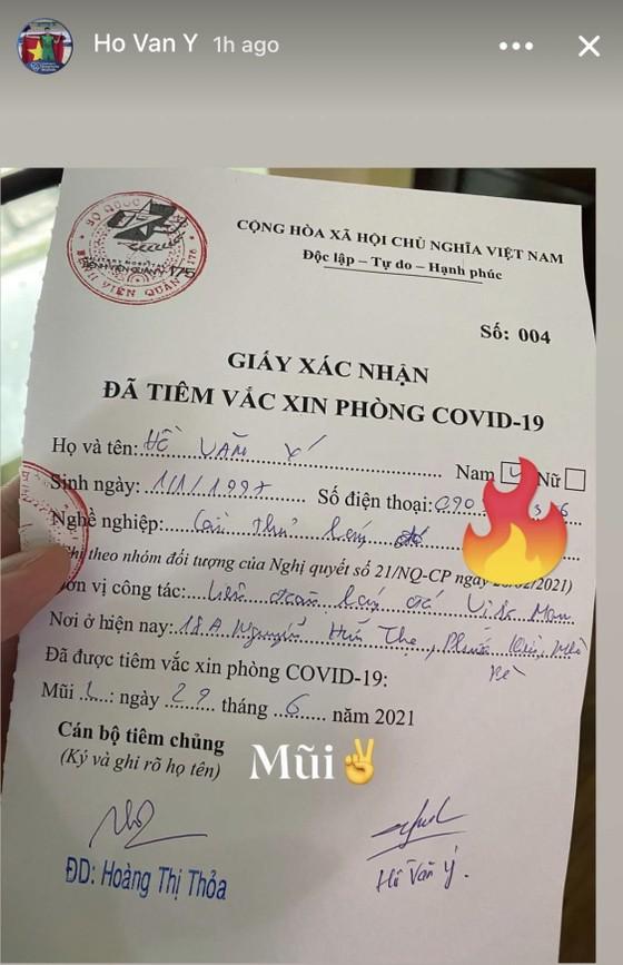 Tuyển futsal Việt Nam hoàn thành tiêm vaccine phòng Covid-19 ảnh 1