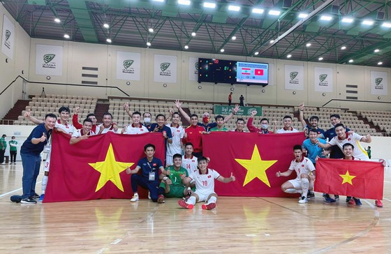 Đội tuyển futsal Việt Nam sẽ tham dự World Cup 2021 vào tháng 9. Ảnh: ANH TRẦN