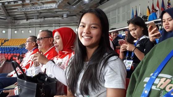Windy Cantika Aisyah đã trở thành VĐV Đông Nam Á đầu tiên đoạt huy chương tại Olympic Tokyo 2020. Ảnh: BOLA
