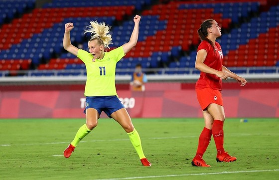Bóng đá nữ Canada lần đầu giành HCV Olympic ảnh 1