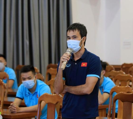 Lãnh đạo VFF trực tiếp giao chỉ tiêu cho tuyển futsal Việt Nam ảnh 1