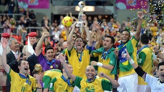 Đội tuyển futsal Brazil đã 5 lần vô địch World Cup