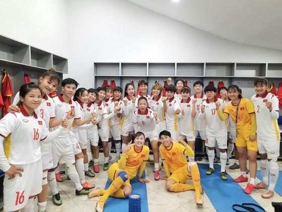 Đội tuyển nữ Việt Nam khả năng cao giành quyền tham dự VCK Giải vô địch nữ châu Á 2022. Ảnh: VFF