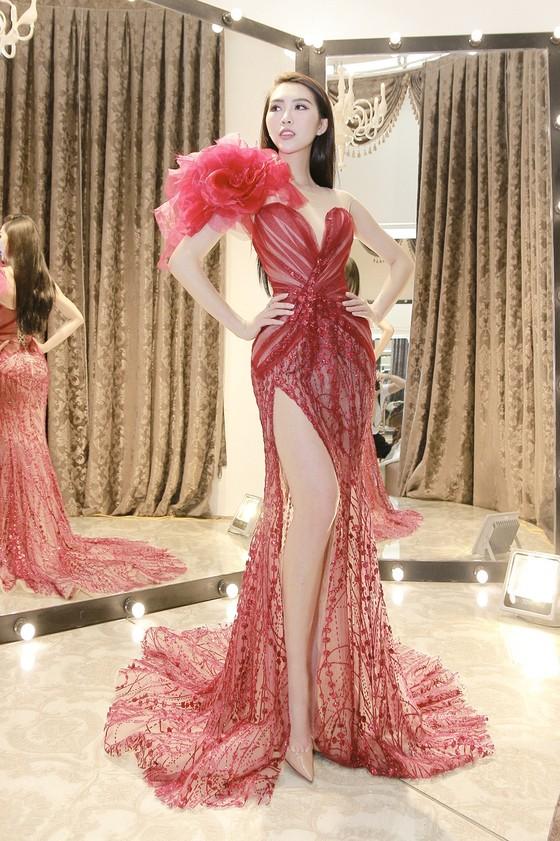 Tường Linh mang hơn 50 bộ trang phục đến Miss Intercontinental 2017 ảnh 2