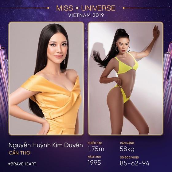 Hàng loạt gương mặt nổi bật trước thềm sơ khảo Hoa hậu Hoàn vũ Việt Nam 2019 ảnh 2