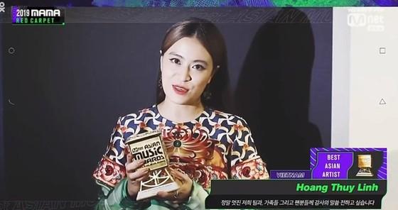 MAMA 2019 gọi tên Hoàng Thùy Linh ở hạng mục Nghệ sĩ Việt Nam xuất sắc nhất châu Á  ảnh 1
