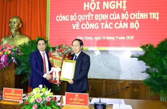 Bộ Chính trị chuẩn y đồng chí Lê Tiến Châu giữ chức Bí thư Tỉnh ủy Hậu Giang  ảnh 1