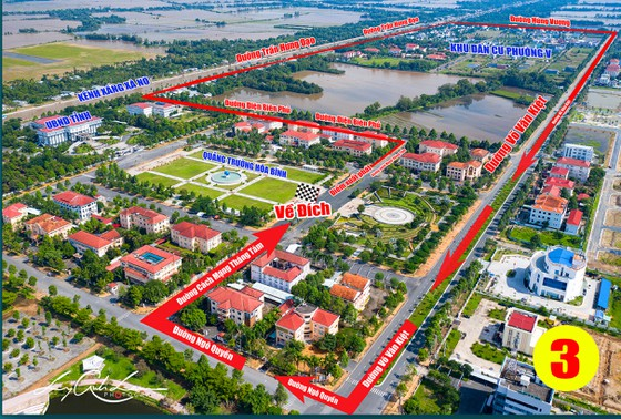"""Hơn 7.100 vận động viên tham gia Giải marathon quốc tế """"Mekong delta marathon"""" ảnh 2"""