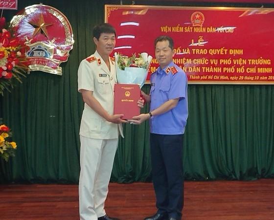 Bổ nhiệm Phó Viện trưởng Viện Kiểm sát Nhân dân TPHCM ảnh 1