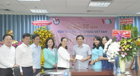 Lãnh đạo TPHCM thăm Báo SGGP và các cơ quan báo chí ảnh 4
