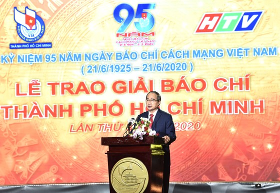 Bí thư Thành ủy TPHCM Nguyễn Thiện Nhân: Nhiệm vụ của báo chí nặng nề nhưng rất vẻ vang ảnh 1