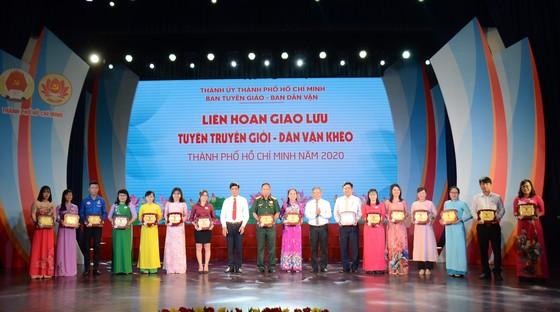 Giao lưu tuyên truyền viên giỏi – dân vận khéo TPHCM ảnh 5