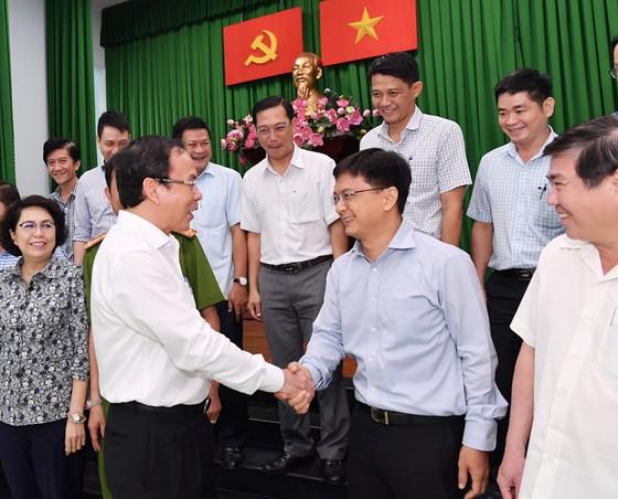 Bí thư Thành ủy TPHCM: Quận Thủ Đức bước sang giai đoạn phát triển mới với tâm thế mới, nhiệm vụ mới ảnh 1