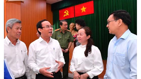 Bí thư Thành ủy TPHCM Nguyễn Văn Nên: 'Giải quyết công việc trôi chảy phục vụ người dân' ảnh 6
