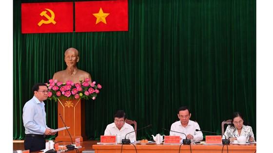 Bí thư Thành ủy TPHCM Nguyễn Văn Nên: 'Giải quyết công việc trôi chảy phục vụ người dân' ảnh 5