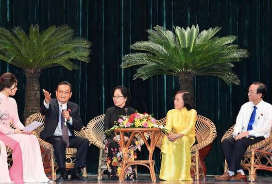 TPHCM họp mặt kỷ niệm 75 năm ngày Tổng tuyển cử đầu tiên bầu Quốc hội  ảnh 3