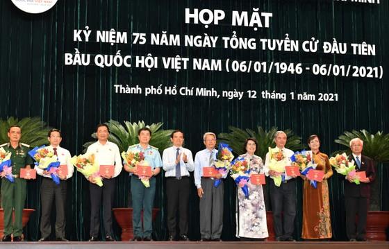 TPHCM họp mặt kỷ niệm 75 năm ngày Tổng tuyển cử đầu tiên bầu Quốc hội  ảnh 1
