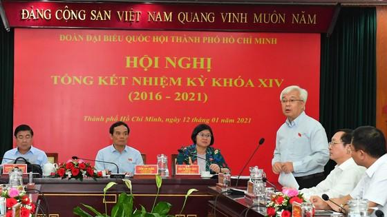 Đoàn ĐBQH TPHCM khóa XIV đã hoàn thành xuất sắc nhiệm vụ ảnh 6