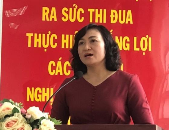 Cử tri thống nhất giới thiệu đồng chí Phan Thị Thắng ứng cử ĐB HĐND TPHCM ảnh 1