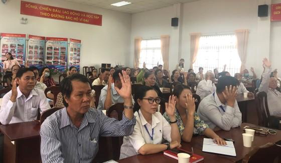 Cử tri thống nhất giới thiệu đồng chí Phan Thị Thắng ứng cử ĐB HĐND TPHCM ảnh 2