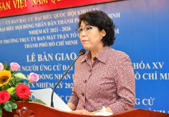 TPHCM hướng dẫn người ứng cử ĐBQH, ĐB HĐND viết tiểu sử, chương trình hành động ảnh 3